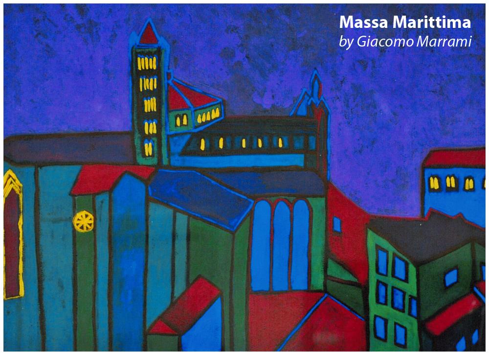 Massa Marittima by Giacomo Marrami