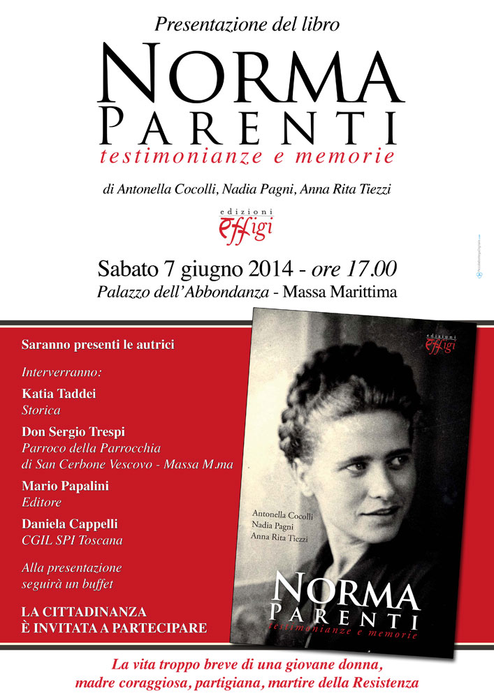 07 06 2014 presentazione del libro norma parenti for Libro fuera de norma